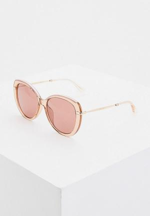 Очки солнцезащитные Jimmy Choo PHEBE/F/S W66. Цвет: розовый