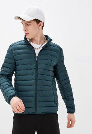 Куртка утепленная Jorg Weber. Цвет: бирюзовый