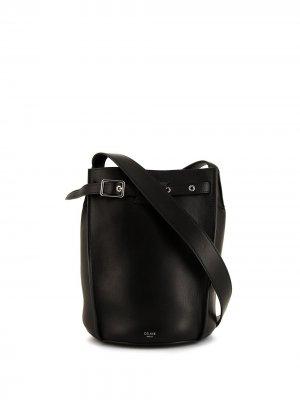 Сумка-ведро Big Bag Céline Pre-Owned. Цвет: черный