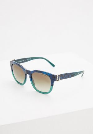 Очки солнцезащитные Burberry BE4258 36778E. Цвет: синий