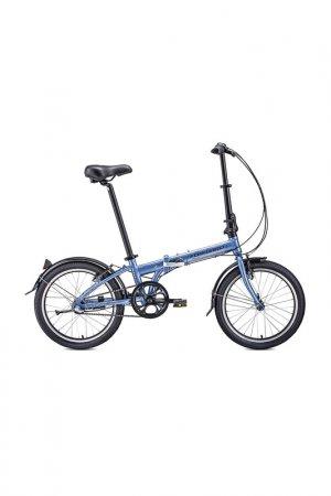 Велосипед ENIGMA 20 3.0 2020 Forward. Цвет: сиреневый, коричневый