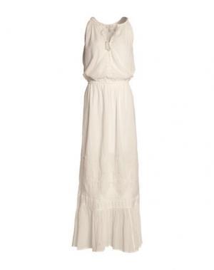 Длинное платье JOIE. Цвет: белый