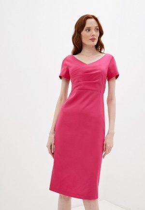 Платье Glance Летнее. Цвет: розовый