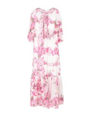Длинное платье ANNA RACHELE. Цвет: светло-фиолетовый