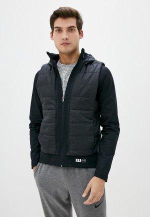 Куртка утепленная Under Armour 2в1, Accelerate Transport PrimaLoft ® Insulation Hooded. Цвет: черный