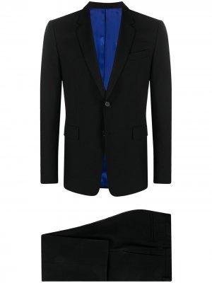 Костюм-двойка с однобортным пиджаком PAUL SMITH. Цвет: черный