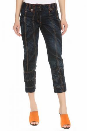 Капри джинсовые Just Cavalli. Цвет: синий