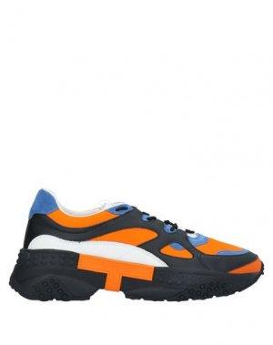 Кеды и кроссовки TOD'S. Цвет: оранжевый