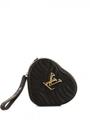 Сумка на плечо New Wave 2018-го года pre-owned Louis Vuitton. Цвет: черный