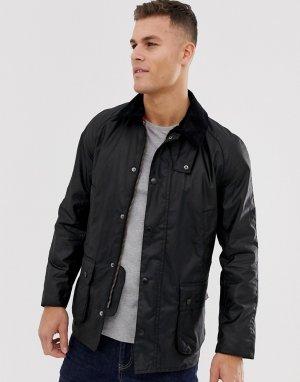 Черная вощеная куртка -Черный цвет Barbour