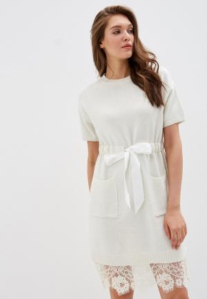 Платье Mamma Mia. Цвет: белый