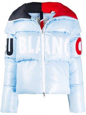 Стеганая куртка Diago Rossignol. Цвет: синий