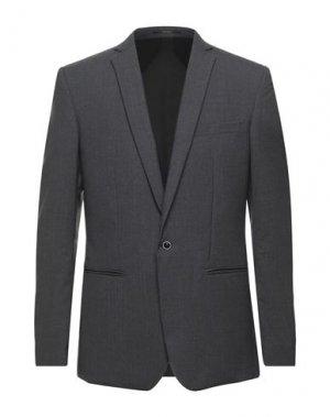 Пиджак FILIPPA K. Цвет: свинцово-серый