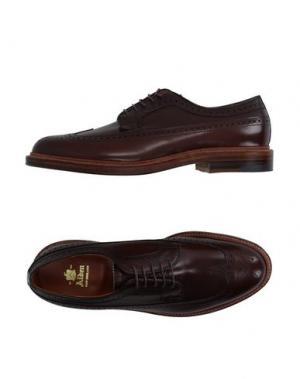 Обувь на шнурках ALDEN. Цвет: какао