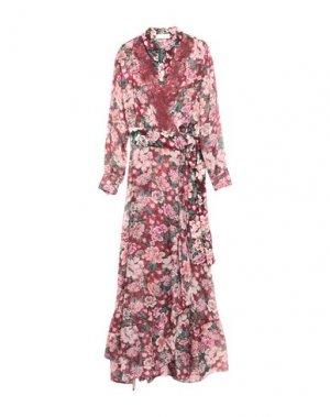 Длинное платье FAITH CONNEXION. Цвет: красно-коричневый