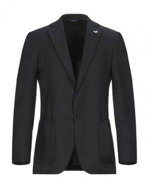 Пиджак TOMBOLINI. Цвет: черный