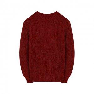 Шерстяной свитер Designers, Remix girls. Цвет: красный