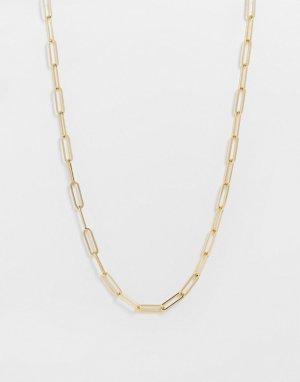 Золотистое ожерелье-цепочка -Золотистый & Other Stories