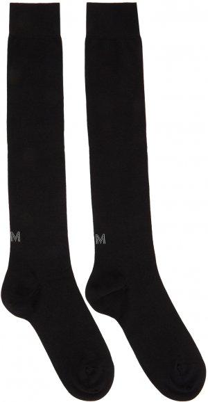 Two-Pack Black Techmerino Knee Socks Ermenegildo Zegna. Цвет: 001 black