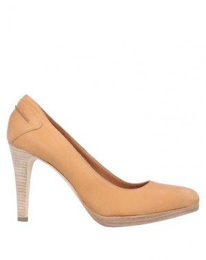 Туфли ALLUMINIO. Цвет: желто-коричневый