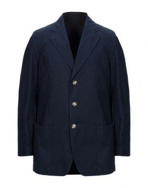 Пиджак ADDICTION ITALIAN COUTURE. Цвет: темно-синий