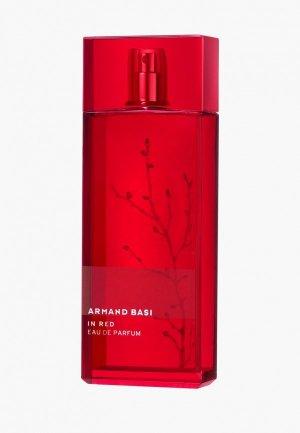Парфюмерная вода Armand Basi In Red EDP, 30 мл. Цвет: прозрачный