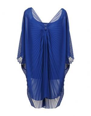Блузка EDAS. Цвет: синий