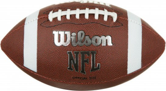 Мяч для американского футбола NFL OFFICAL Wilson. Цвет: коричневый