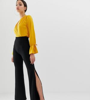 Брюки клеш -Черный Fashionkilla Tall