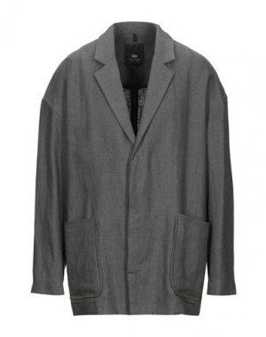 Пиджак TOM REBL. Цвет: свинцово-серый