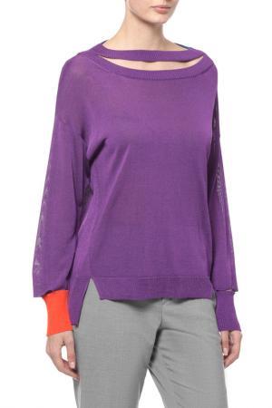 Пуловер Diesel. Цвет: фиолетовый