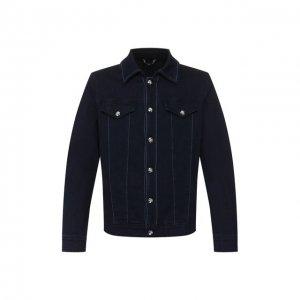 Джинсовая куртка Zilli. Цвет: синий