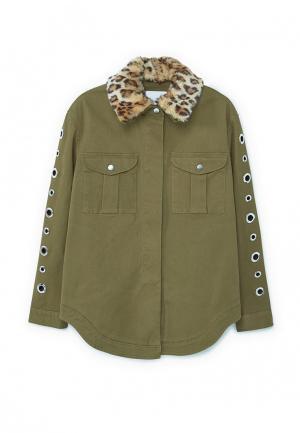 Куртка Mango - HULA. Цвет: хаки