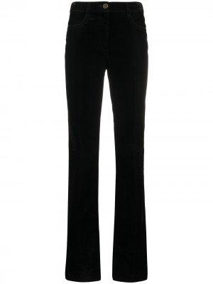 Расклешенные джинсы с нашивкой Marni. Цвет: черный