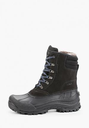 Ботинки CMP KINOS WP. Цвет: черный