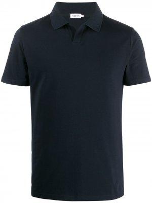 Рубашка-поло без пуговиц Filippa K. Цвет: синий