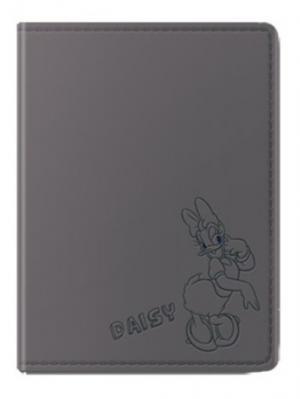Обложка для паспорта Дэйзи Disney. Цвет: серый