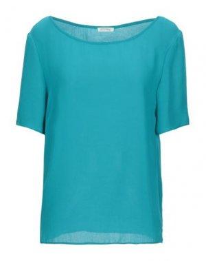 Блузка AMERICAN VINTAGE. Цвет: изумрудно-зеленый