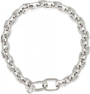 Silver G Link Bracelet Givenchy. Цвет: 040-silver grey
