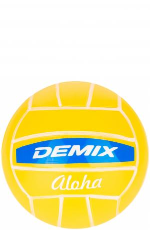 Мяч волейбольный сувенирный Demix. Цвет: желтый