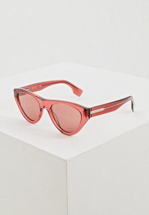 Очки солнцезащитные Burberry BE4285 379675. Цвет: розовый