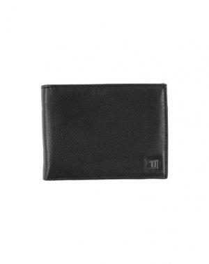 Бумажник TRUSSARDI JEANS. Цвет: черный