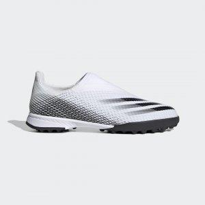 Футбольные бутсы X Ghosted.3 Laceless Performance adidas. Цвет: черный