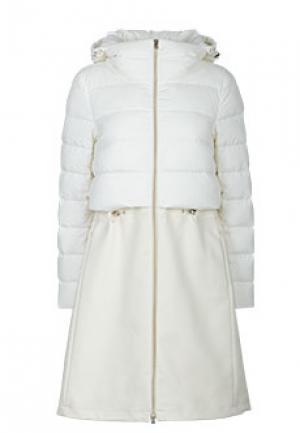 Пальто HERNO. Цвет: белый