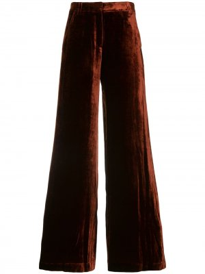 Бархатные брюки A.L.C.. Цвет: красный
