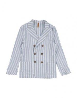 Пиджак 26.7 TWENTYSIXSEVEN. Цвет: небесно-голубой
