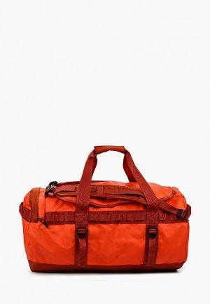Сумка спортивная The North Face M. Цвет: оранжевый