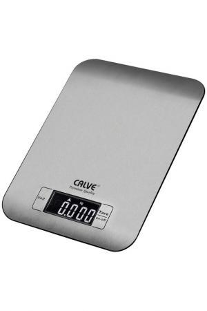 Весы кухонные Calve. Цвет: серебристый