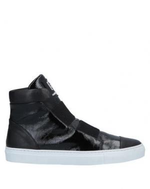 Высокие кеды и кроссовки ALBERTO FERMANI. Цвет: черный