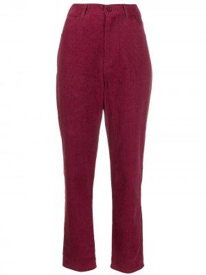 Вельветовые брюки Foly с завышенной талией Antik Batik. Цвет: розовый